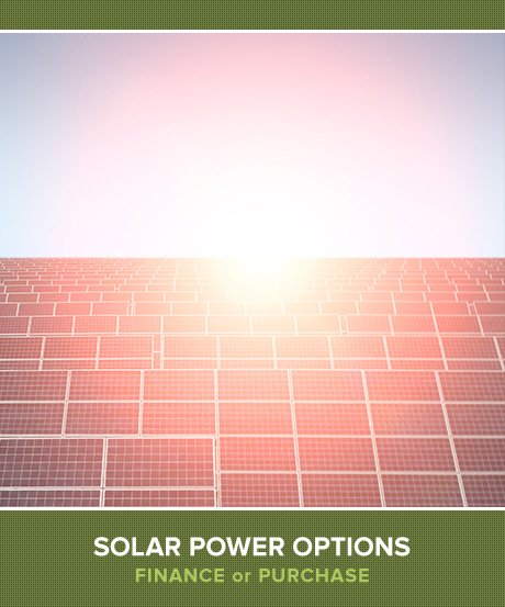 Your Solar Power Options - Finance or Purchase